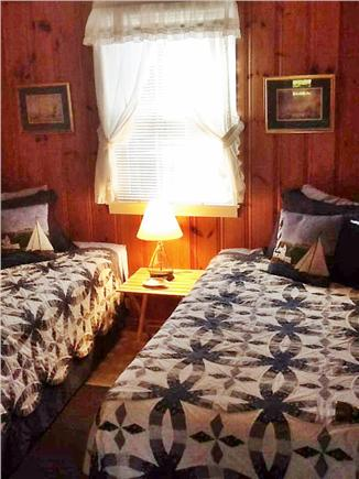 Dennisport Cape Cod vacation rental - Twin bedroom with large closet