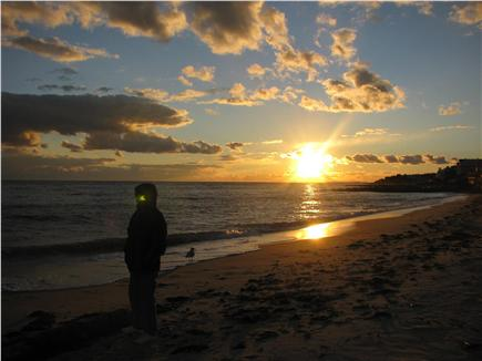 Dennisport Cape Cod vacation rental - Watch the sunset at Inman Beach