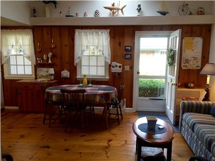 Dennisport Cape Cod vacation rental - Fully equipped kitchen with dining area.