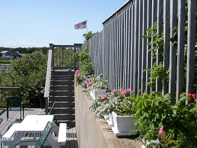 Lewis Bay, West Yarmouth Cape Cod vacation rental - Barbecue or just lounge and watch the ferries