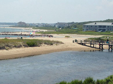 Lewis Bay, West Yarmouth Cape Cod vacation rental - Your morning commute to the beach