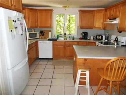 Hyannis Cape Cod vacation rental - View of fantastic large kitchen ~ New Fridge, stove, & dishwasher