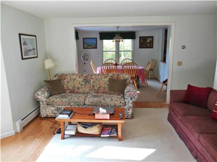 Hyannis Cape Cod vacation rental - NEW Hardwood Floors & Paint ~ May 2014  Open Living & Dining Room