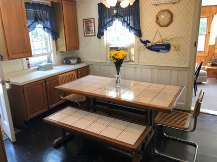 West Hyannisport Cape Cod vacation rental - Make some memories at this comfortable dining table.