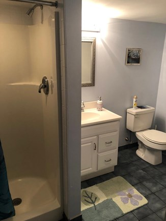 West Hyannisport Cape Cod vacation rental - Bottom floor bathroom, spacious with nice shower.