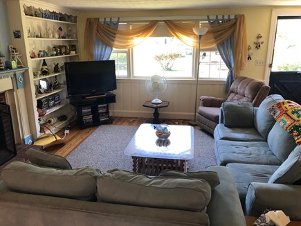 West Hyannisport Cape Cod vacation rental - Relax in this spacious Living Room!