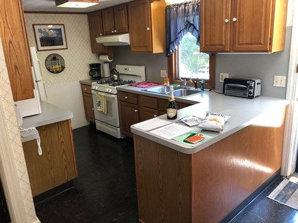 West Hyannisport Cape Cod vacation rental - Very efficient kitchen with everything you need.