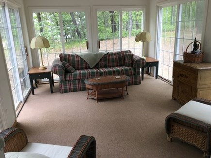 Wellfleet Cape Cod vacation rental - Screened In Sun Porch