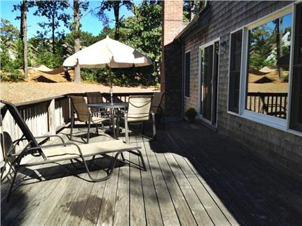 Wellfleet Cape Cod vacation rental - Back of House-Deck