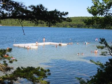 Wellfleet Cape Cod vacation rental - Gull Pond (1 min. drive)