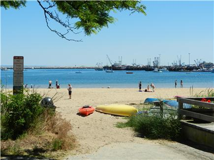 Provincetown Cape Cod vacation rental - Beautiful beach at the end of Pearl St.- very close to the condo!