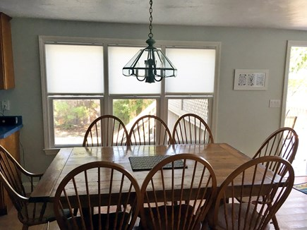Mashpee, Popponesset Beach Cape Cod vacation rental - Dining table seats 8