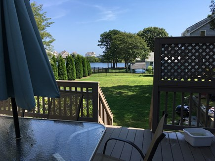 Mashpee, Popponesset Beach Cape Cod vacation rental - Deck looking towards Dean Pond and Ocean