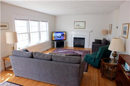 Harwich Cape Cod vacation rental - Spacious, comfortable living room; 47-inch HD TV.