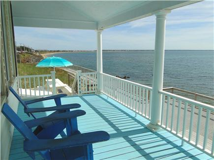 Provincetown Cape Cod vacation rental - Wraparound Porch with Panoramic Bay Views
