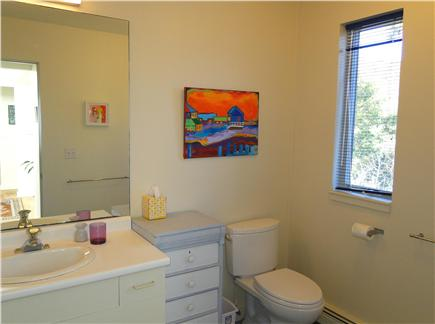 Wellfleet 4 acres on the inner Cape Cod vacation rental - Upstairs bathroom with shower