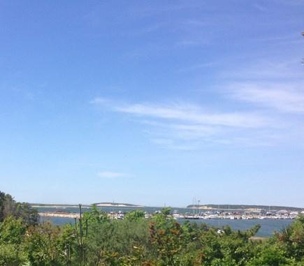 Wellfleet Cape Cod vacation rental - View of Wellfleet Harbor and Great Island from deck