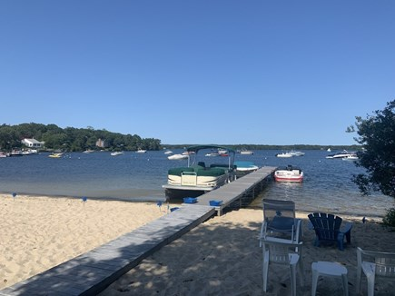 Centerville Cape Cod vacation rental - Relax on private beach on the lake