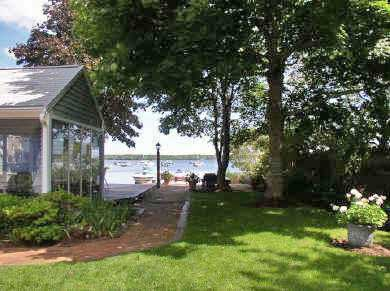 Centerville Centerville vacation rental - Direct access to the beach on Lake Wequaket