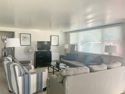Centerville Cape Cod vacation rental - Spacious, open living area w/water views & cable TV