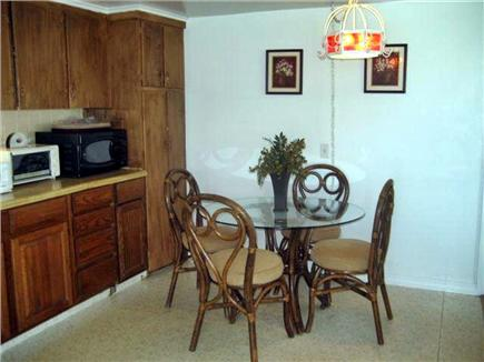 Centerville Centerville vacation rental - Kitchen/Dining Area wicker & glass top