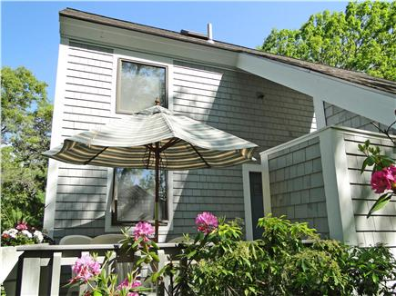 New Seabury New Seabury vacation rental - Enjoy relaxing on the new deck furniture in private back yard