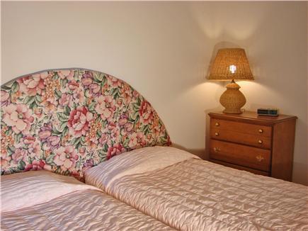 New Seabury New Seabury vacation rental - Twin bedroom with slider to back yard