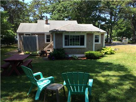 South Yarmouth Cape Cod vacation rental - Backyard