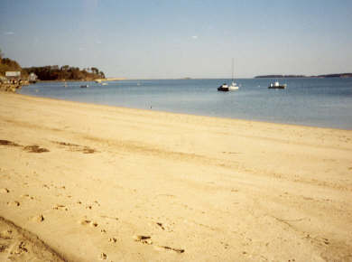 South Orleans Cape Cod vacation rental - 300 Feet of Private Sandy Beach on Pleasant Bay
