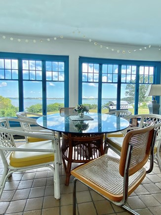South Orleans Cape Cod vacation rental - Bright sunroom overlooking garden