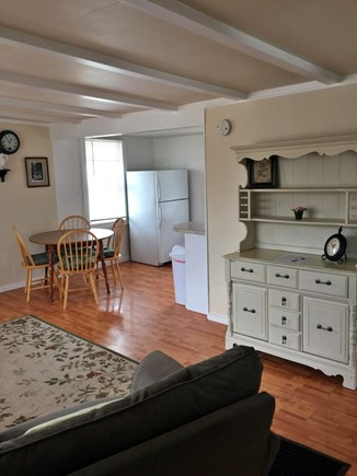 North Truro Cape Cod vacation rental - Living and dining area