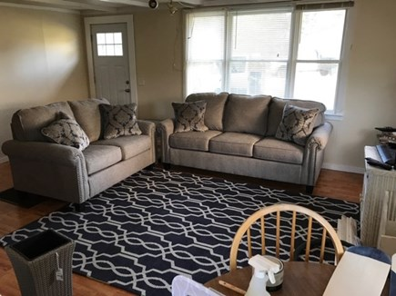 North Truro Cape Cod vacation rental - Living room. New sofa and loveseat!
