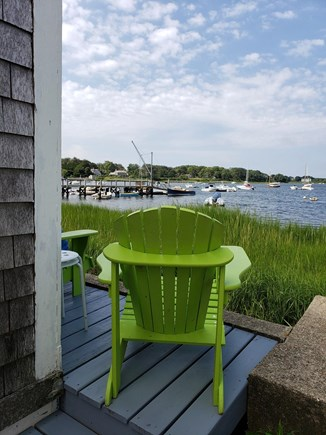 Chatham Cape Cod vacation rental - View towards First Light dock