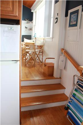 West Yarmouth Cape Cod vacation rental - Easy 3 steps from the kitchen to the Great Room