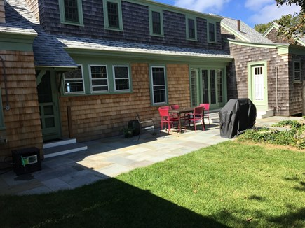 Woods Hole Cape Cod vacation rental - Back Patio