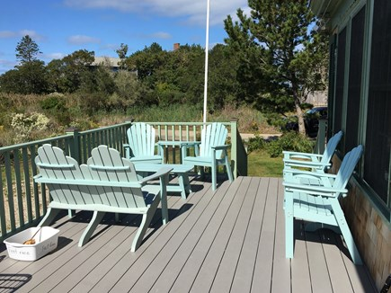 Woods Hole Cape Cod vacation rental - Spacious Front Porch