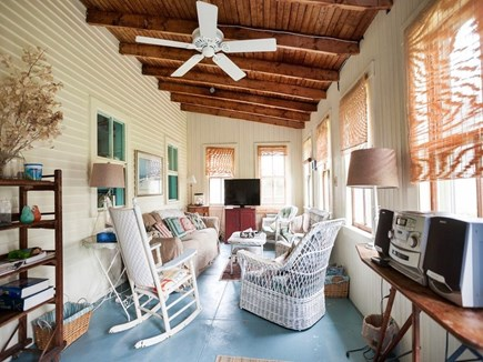 West Harwich Cape Cod vacation rental - Porch, great place to watch a ballgame or enjoy a snooze.