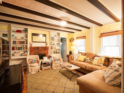 West Harwich Cape Cod vacation rental - Comfortable, Spacious Living Room with Flat Screen/Cable/DVD