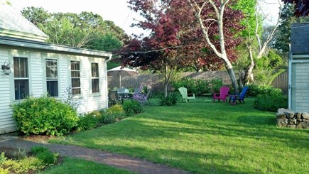 West Harwich Cape Cod vacation rental - Beautiful roses, hydrangeas & Shade! Very private
