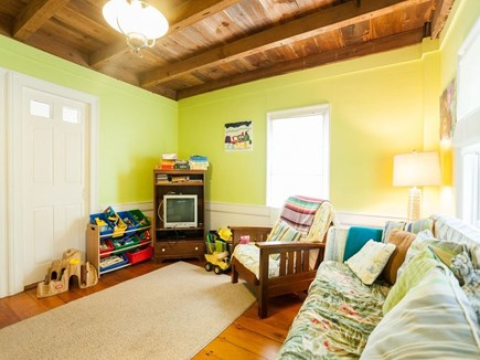 West Harwich Cape Cod vacation rental - 2nd Living room, with toys/games/tv with DVD