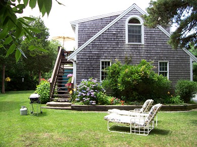 Orleans Cape Cod vacation rental - Relax in the sun or the shade on comfortable chaises