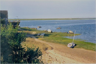 Orleans Cape Cod vacation rental - Nauset Inlet - 1/2 mile away - looking north