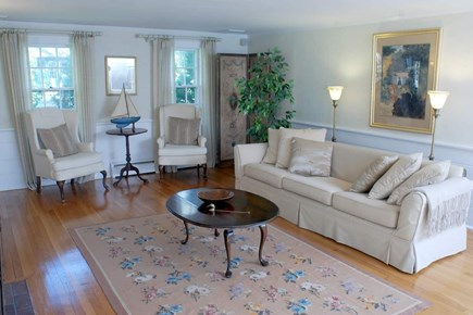 East Falmouth in the historic  Cape Cod vacation rental - Living Room