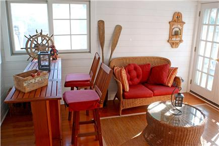East Falmouth in the historic  Cape Cod vacation rental - Three season porch