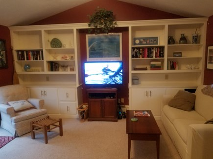 Chatham Cape Cod vacation rental - Family Room with sliders to deck