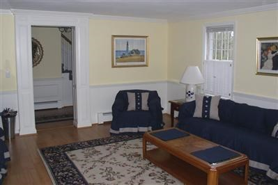 Chatham Cape Cod vacation rental - Formal living room off foyer
