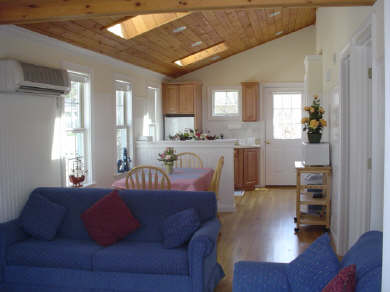 West Yarmouth Cape Cod vacation rental - Living Room/Dining Area/Kitchen