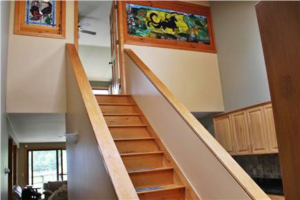 Wellfleet Cape Cod vacation rental - Stairs to Master Bedroom