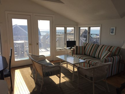 Provincetown Cape Cod vacation rental - Main room facing south
