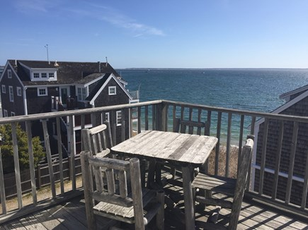 Provincetown Cape Cod vacation rental - Main deck view of the Bay
